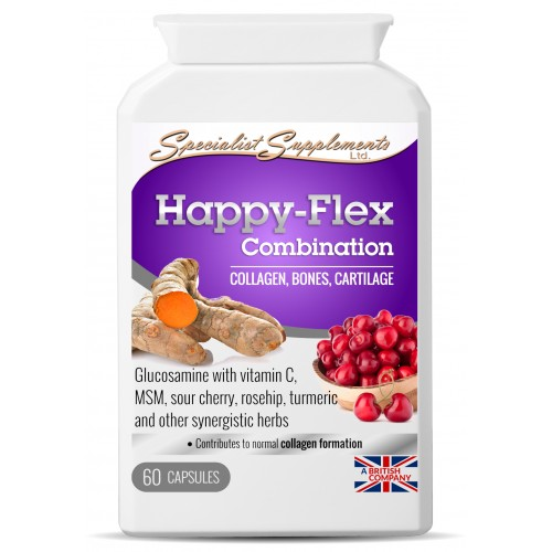 collagen for joints and skin - the natural health dictionary.com - Happy-Flex-pot-500x500