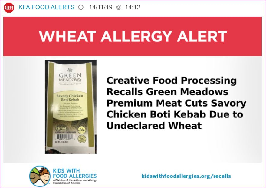wheat allergy alerts - the natural health dictionary - thenaturalhealthdictionary.com
