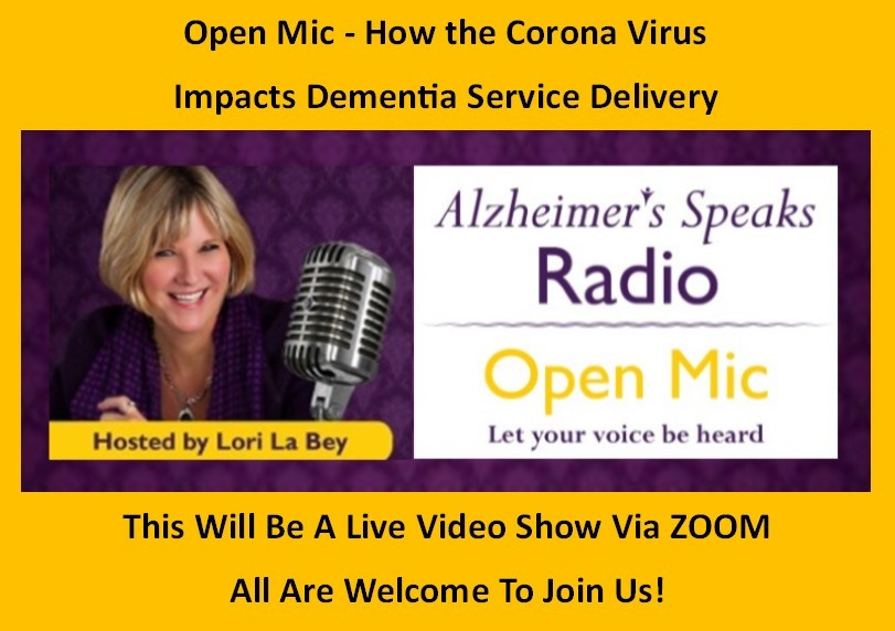 Corna Virus – The Impact on Dementia Care Services 14