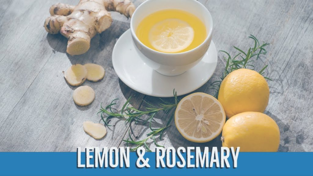 Lemon And Rosemary Tea To Reduce Anxiety And Speed Weight Loss 2